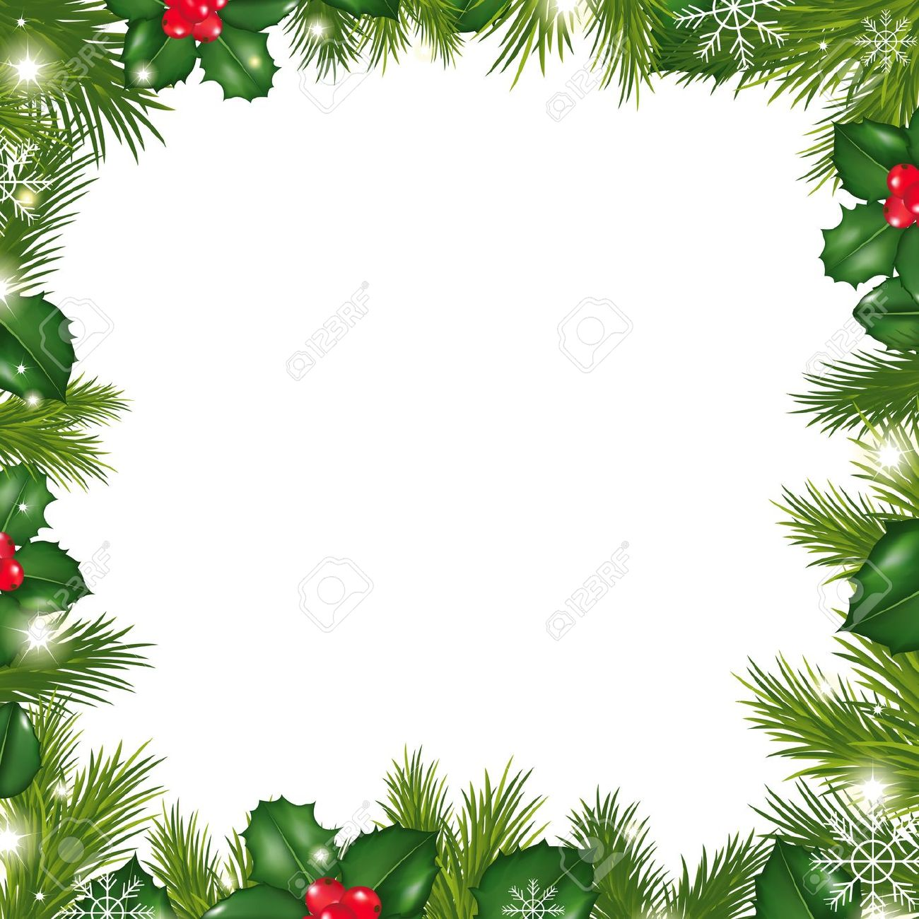 1300x1300 Christmas Wreath Border. Free Christmas Wreath Clipart Kid. Like