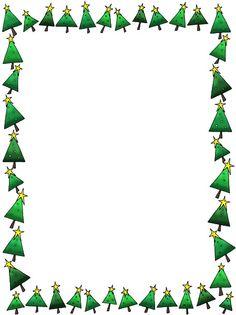 236x315 Christmas Tree Borders For Microsoft Word Fun For Christmas