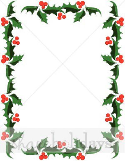 400x515 Christmas Border Clip Art Microsoft Clipart