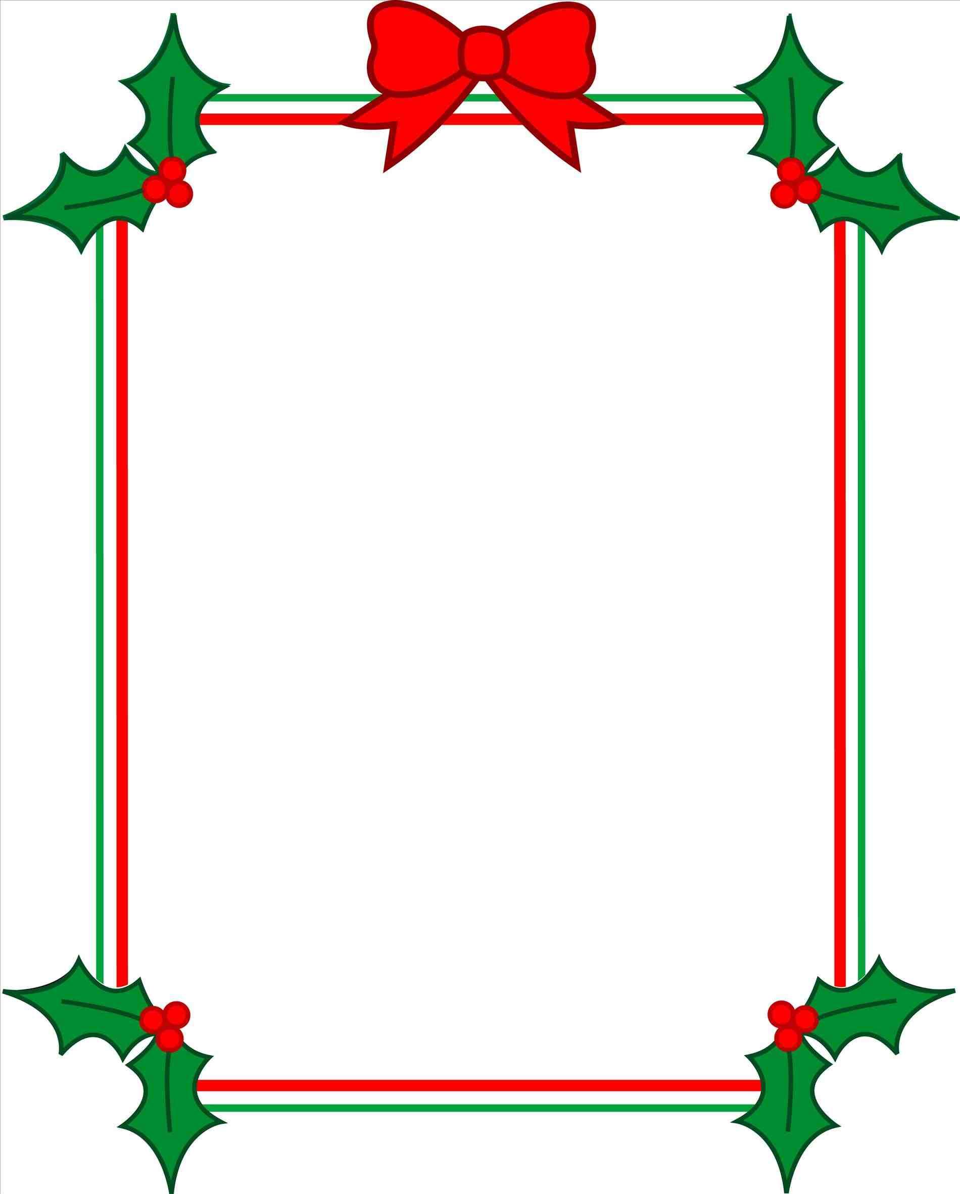1900x2364 Downloads Printable Christmas Borders Landscape Watermelon Border
