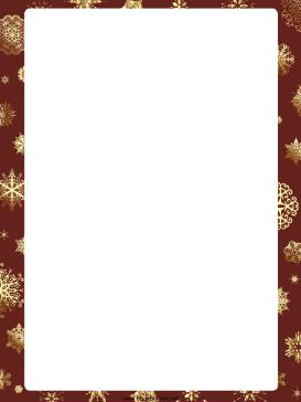 273x364 Snowflakes Christmas Border.png