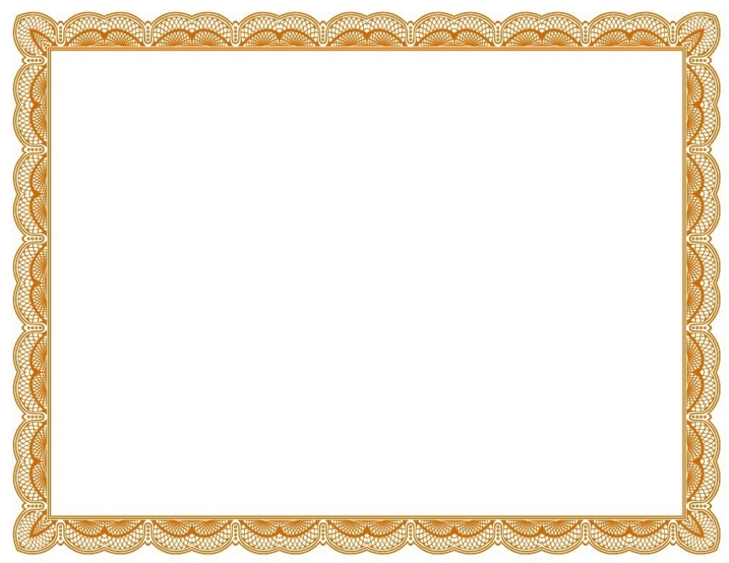 1024x791 Certificate Border Template Microsoft Word
