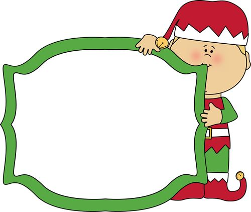 500x422 Free Clipart Of Christmas Elves