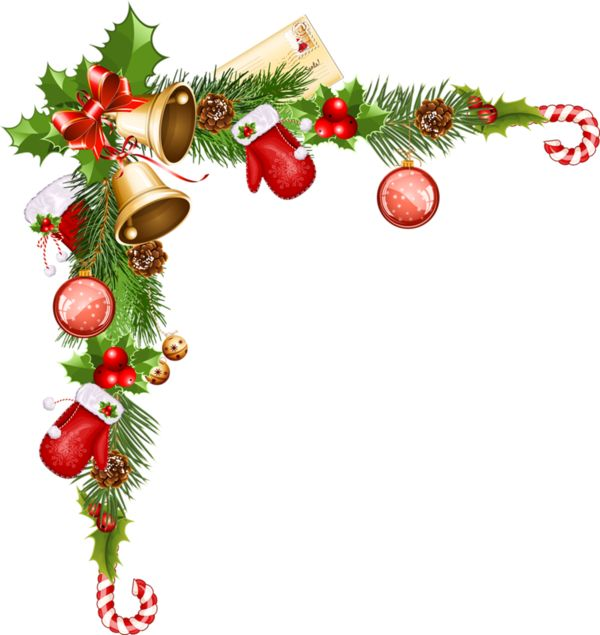 600x635 Christmas Border Decorations Fun For Christmas