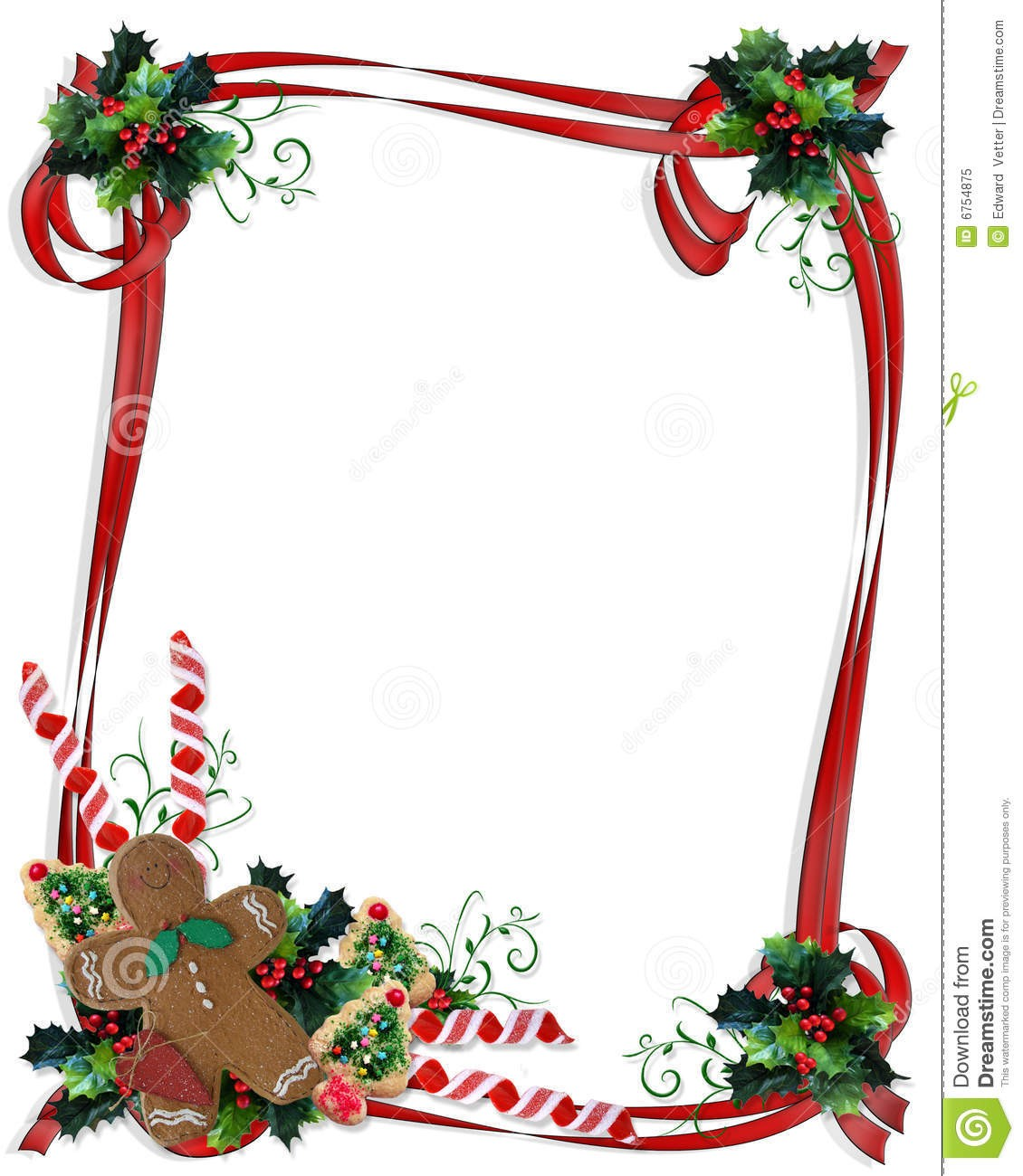 1130x1300 Christmas Borders Free Download