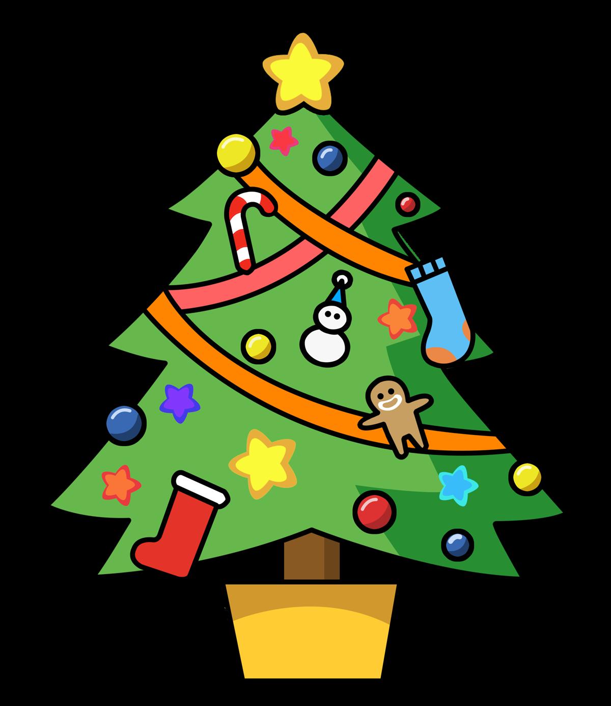 1200x1386 Cartoon Christmas Clipart