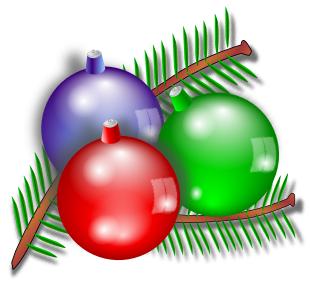 310x307 Free Clipart Christmas Ball Ornaments