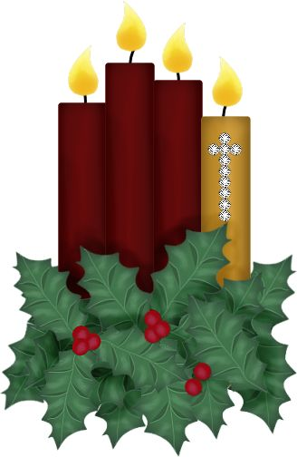 Christmas Candle Images