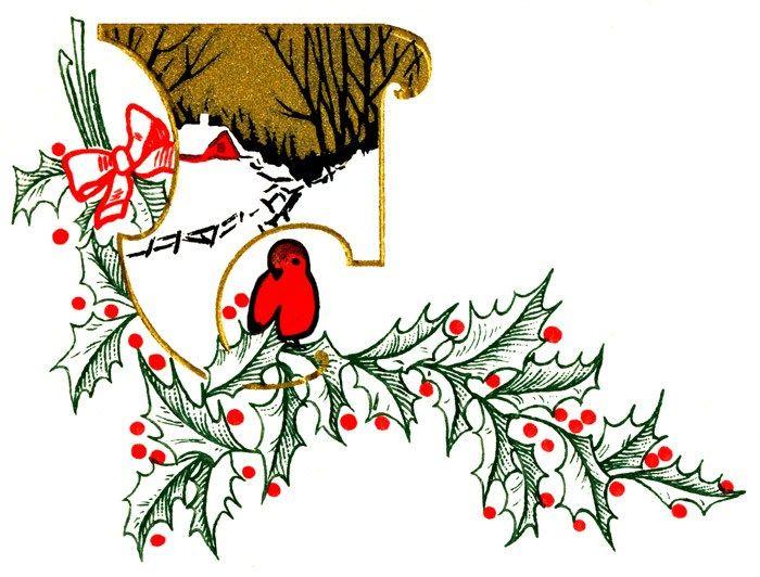 Christmas Cardinal Clipart