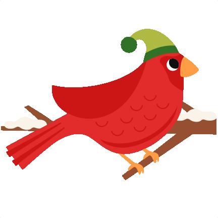 432x432 Christmas Bird Scrapbook Clip Art Christmas Cut Outs For Cricut