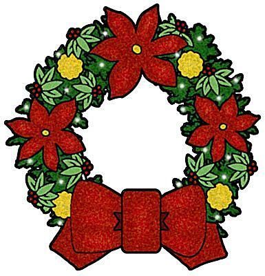 385x400 Best Free Christmas Clip Art Ideas Floral