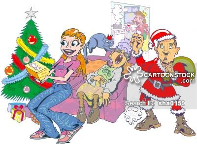 400x291 Happy Christmas Cartoons And Comics
