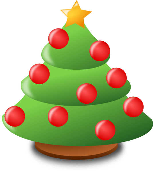534x596 Christmas Cartoon Decorations