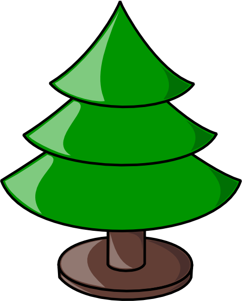 480x596 Christmas Tree Clip Art