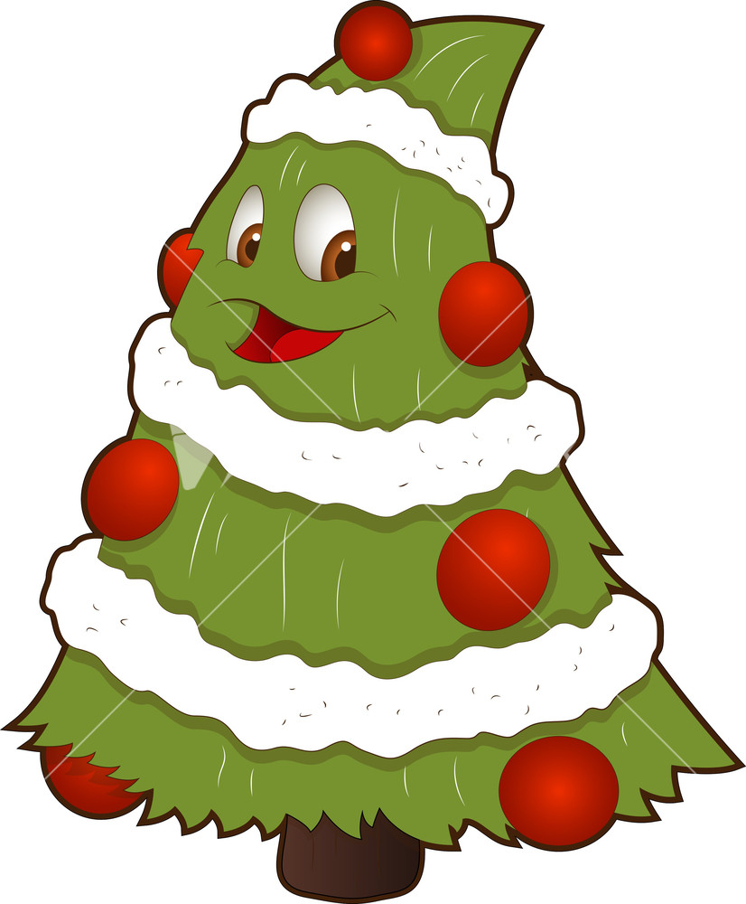 826x1000 Christmas Tree Clipart Character