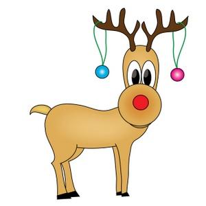 300x300 Free Free Reindeer Clip Art Image 0515 0912 1509 5556 Christmas