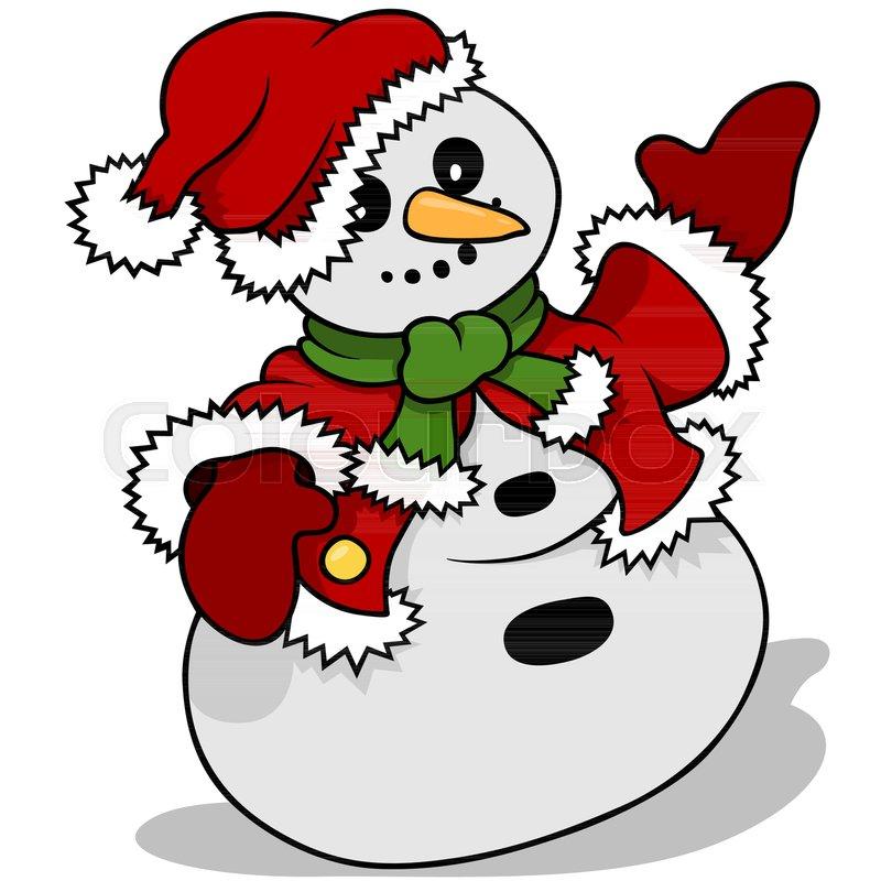 800x800 Snowman Santa Claus