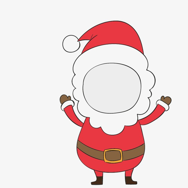 650x650 Santa Snowman Emoticons, Christmas Cartoon Animals, Santa Stickers