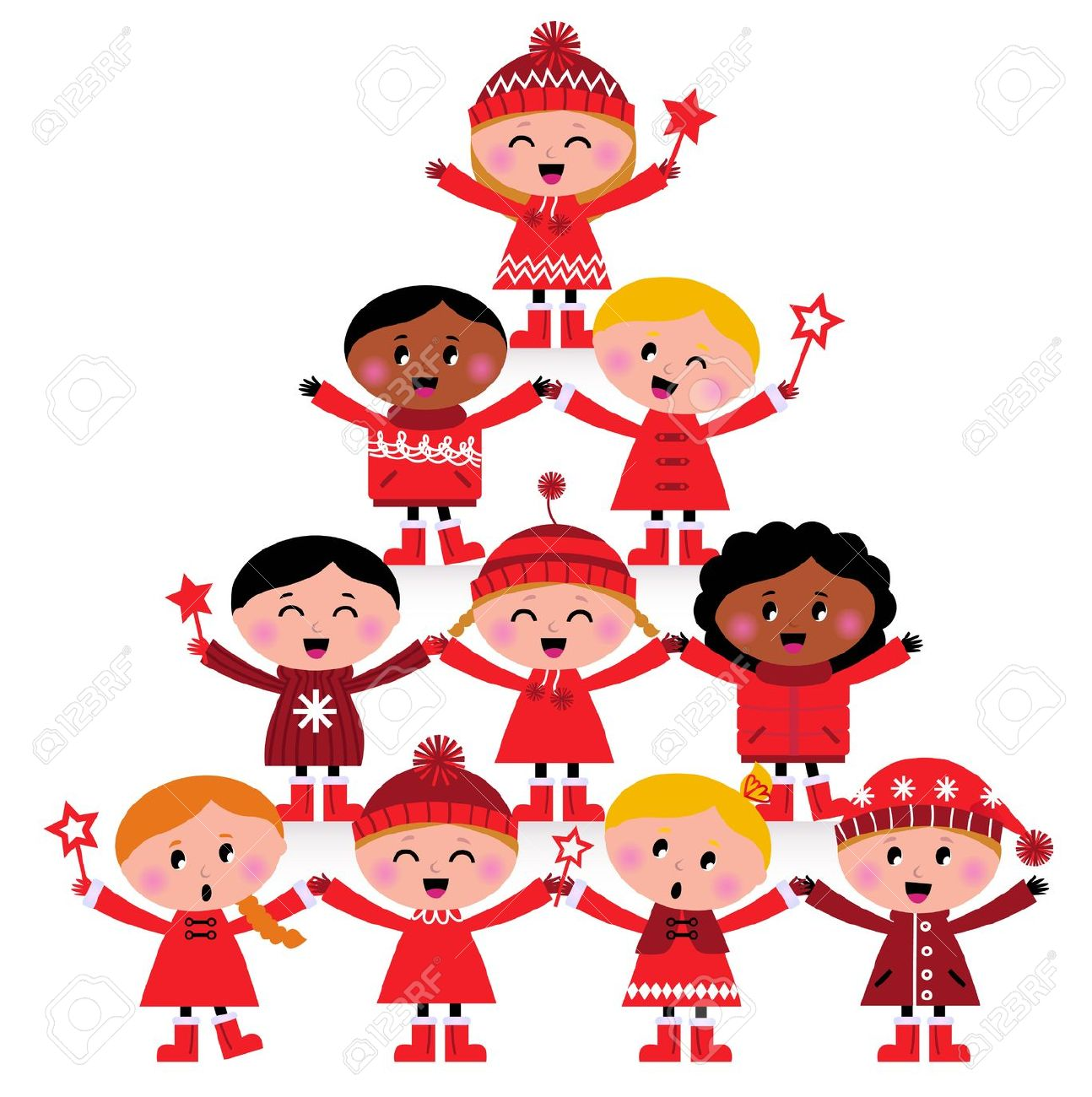 1294x1300 Child Christmas Clipart