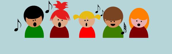 600x191 Children Choir Clip Art