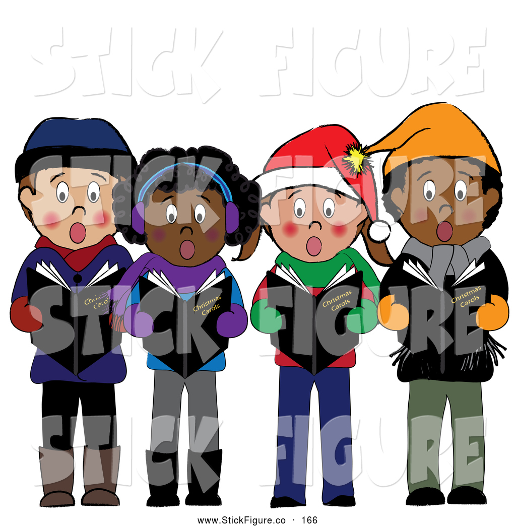 1024x1044 Christmas Singing Clipart