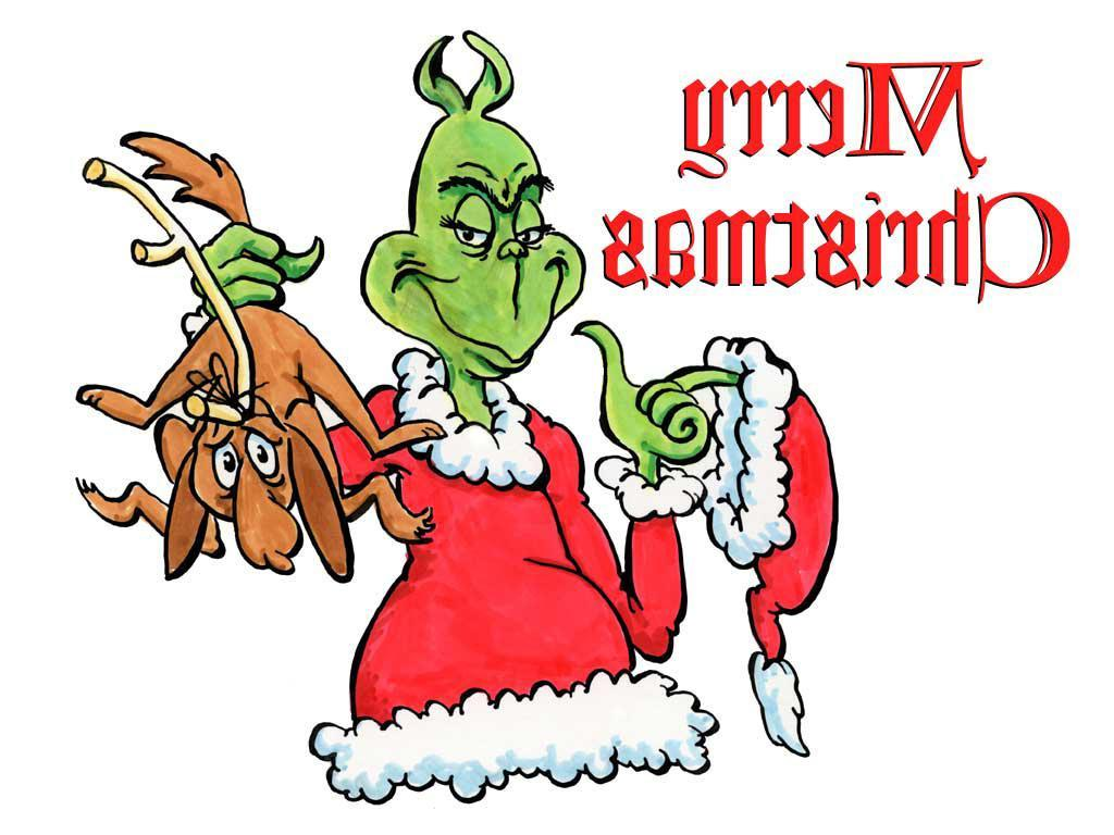1024x768 Best Free How The Grinch Stole Christmas Clip Art File