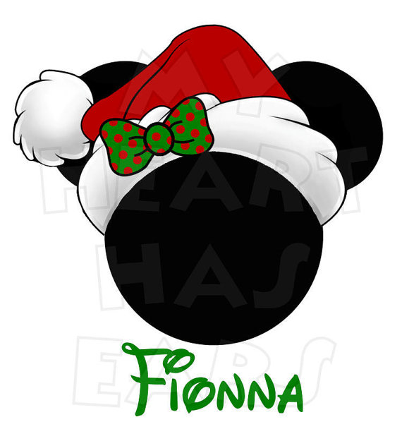 570x625 Minnie Mouse Christmas Clipart