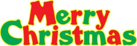 465x158 Christmas Clip Art Images