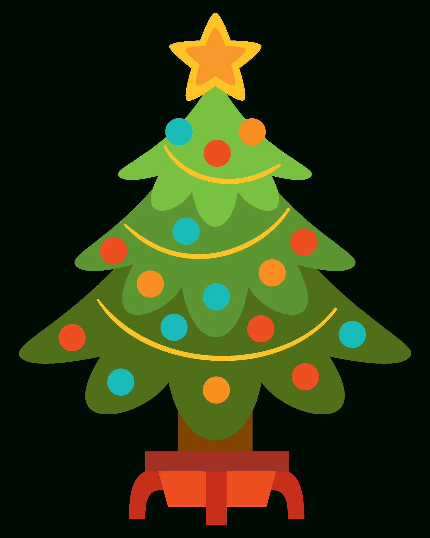 1500x1875 Christmas Tree Clip Art 2017 Best Template Idea