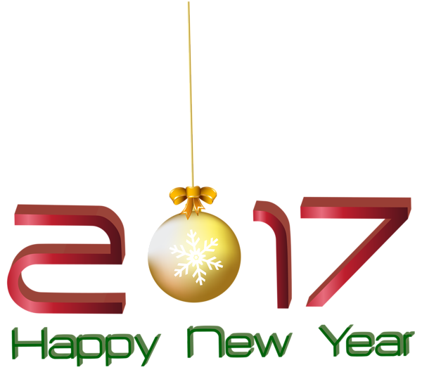 600x536 2017 Happy New Year Transparent Png Clip Art Image 2017