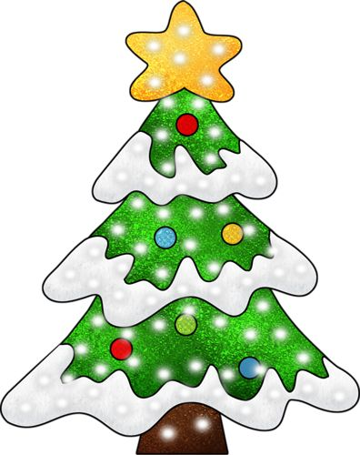 396x500 Top 78 Christmas Tree Clip Art