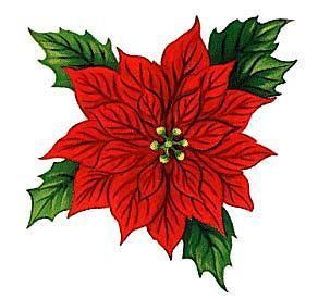 292x275 Best Free Christmas Clip Art Ideas Floral