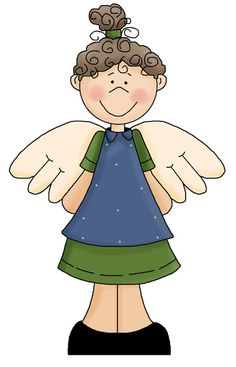 236x367 Country Angel Clip Art Christmas