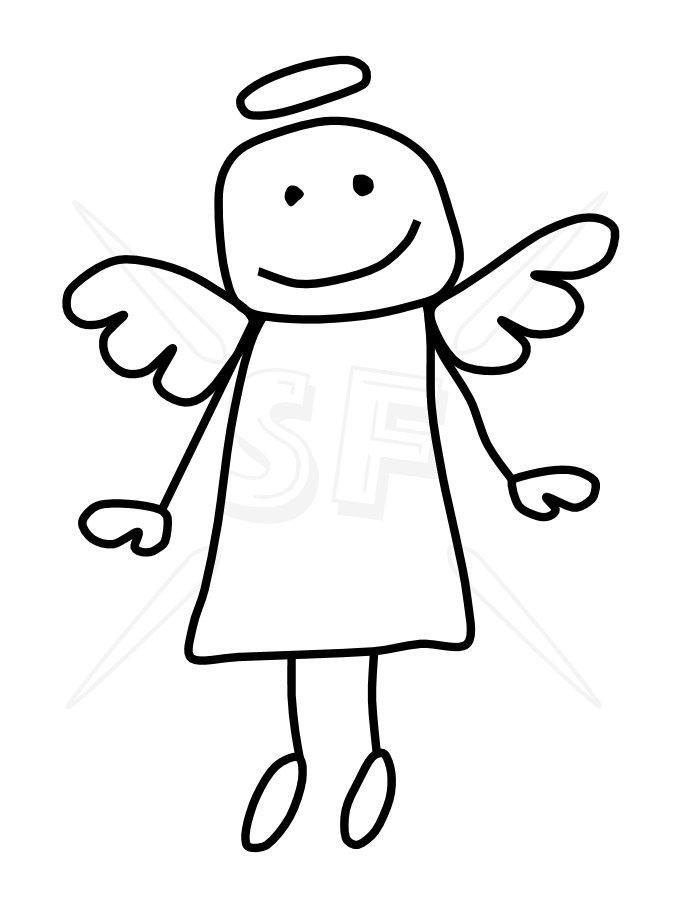 675x900 Clip Art Angel