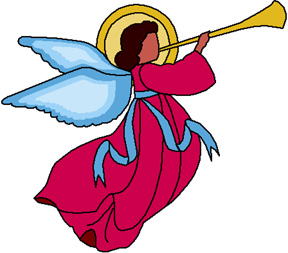 288x253 Colouful Clipart Angel