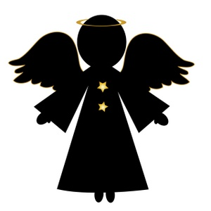 300x300 Free Angel Clip Art Image