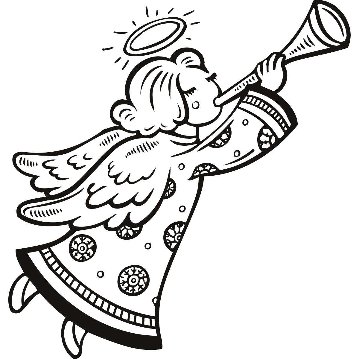 1200x1200 White Dove Clipart Christmas Angel