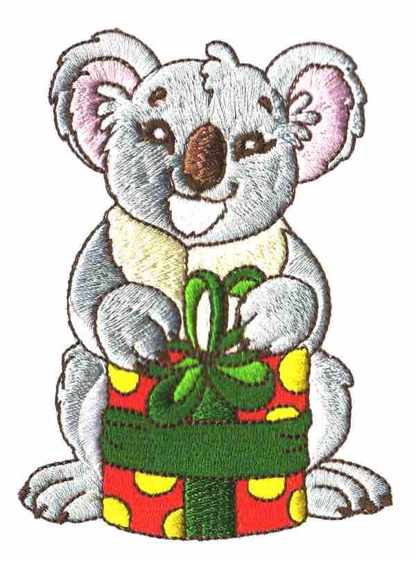 600x809 Australian Clipart Christmas