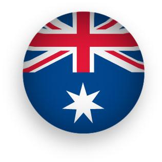 316x315 Free Animated Australian Flags