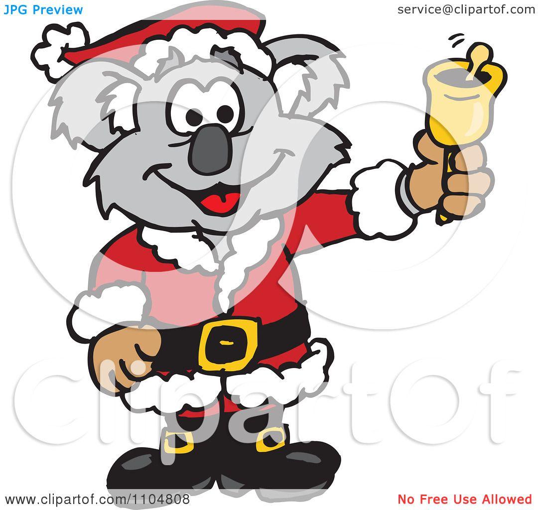 1080x1024 Koala Clipart Christmas
