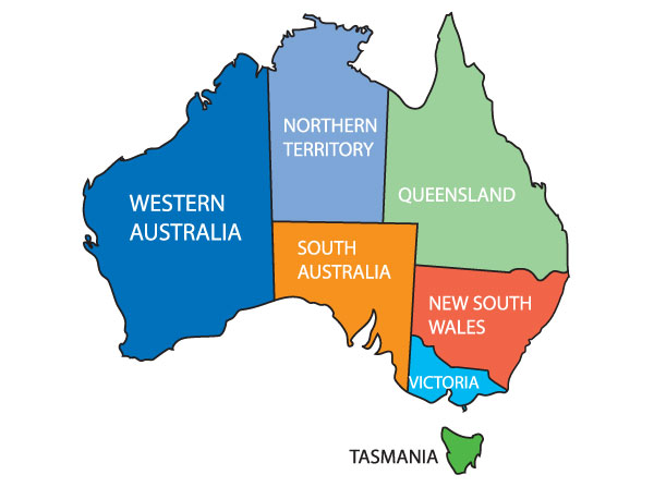 600x447 Australia Free Clipart