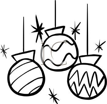 350x338 Christmas Clipart Black And White Free Merry Happy