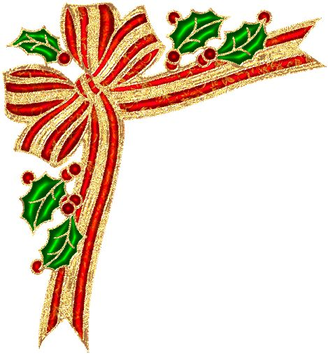 Christmas Clipart Corners