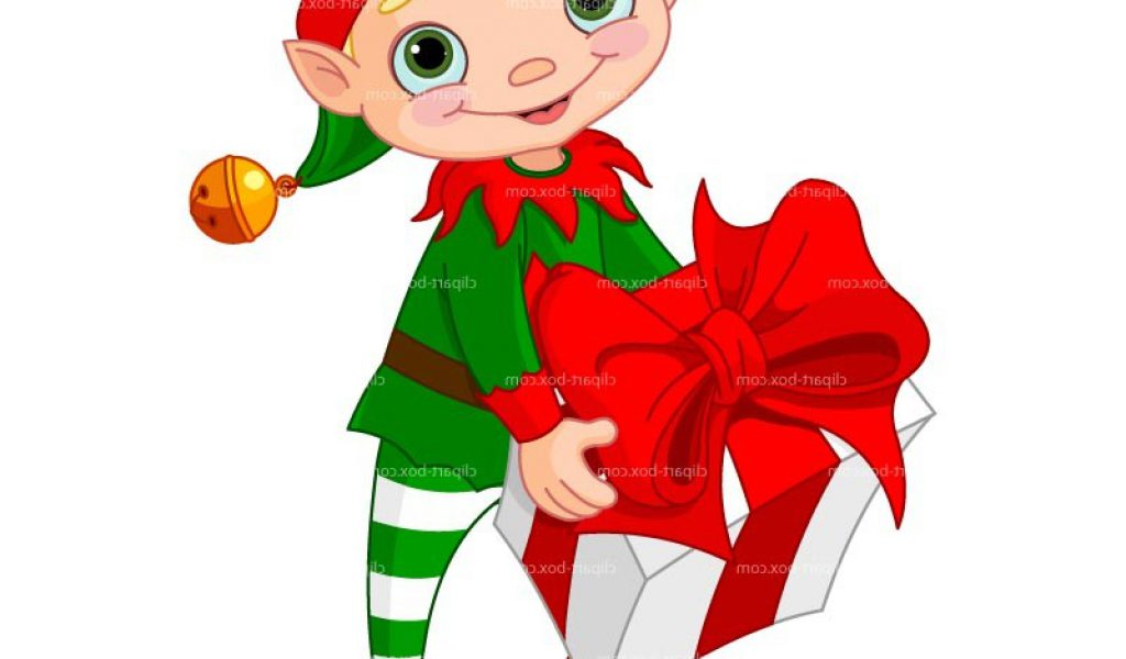 1024x600 Christmas Elf Clip Art