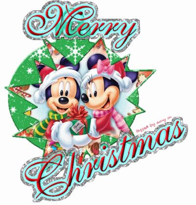 400x418 Merry Christmas Clipart Disney Christmas