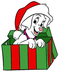236x286 Non Copyrighted Drawings 101 Dalmatians Christmas Clip Art