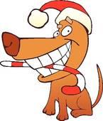 145x170 Christmas Dog