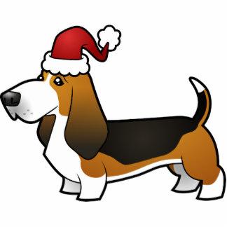 324x324 Basset Hound Clipart Christmas