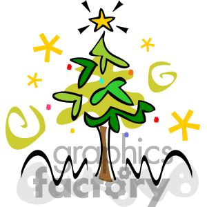 Christmas Clipart Drawings