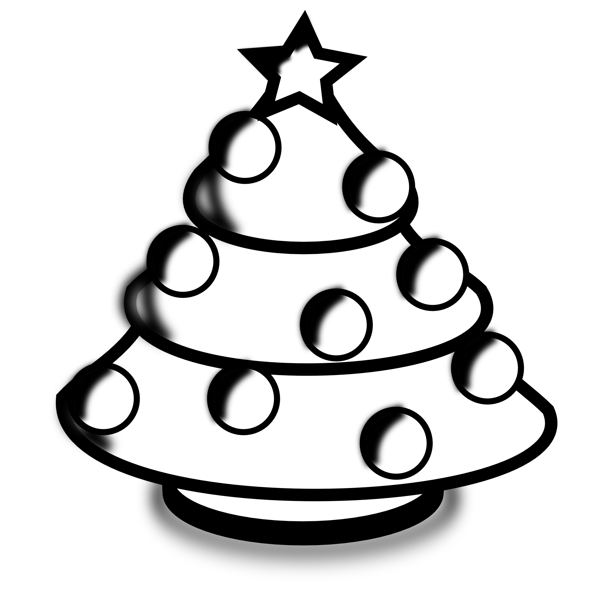 1979x1979 Christmas Black And White Christmas Clip Art Black And White